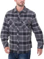 Dickies Black & Charcoal Plaid Flannel Jacket - Men's Regular