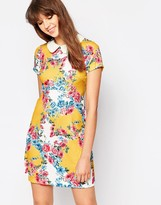 Traffic People Singing Garlands Perfect Penny Dress With Collar