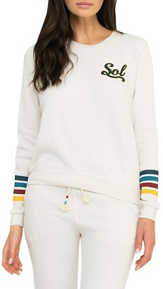 Sol Angeles Varsity Brushed Pullover