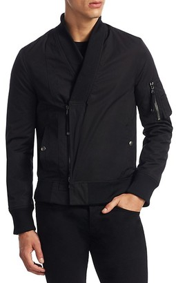 Diesel Jiarrino Shawl-Collar Bomber Jacket