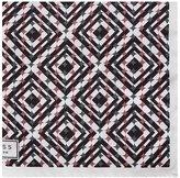 Reiss Sazerac Printed Silk Pocket Square