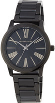 MICHAEL Michael Kors 38mm Hartman Bracelet Watch, Black