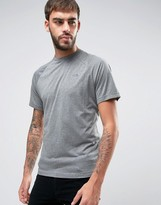 The North Face Tanken Raglan T-shirt Small Logo In Light Grey Heather