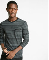 Express Welt Pocket Long Sleeve Tee