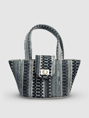 L2r The Label SC4 | Mini Panier Crossbody ScraBag in Grey