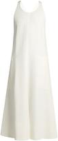 Joseph Penn racer-back sleeveless jersey dress