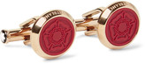 Montblanc Shakespeare Gold-tone Resin Cufflinks