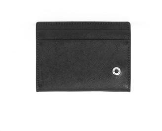 Orciani Black Leather Card Holder