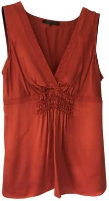 BCBGMAXAZRIA \N Orange Silk Top for Women