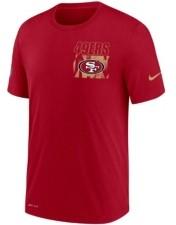 Nike San Men's Francisco 49ers Dri-Fit Cotton Facility T-shirt