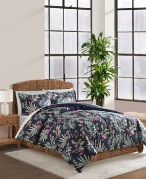 Sunham Cathrina Navy 3-Pc. King Comforter Set Bedding