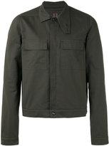 Rick Owens front pocket shirt jacket