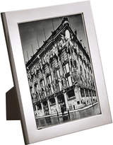 Carrs of Sheffield Flat series silver-plated picture frame 7 x 5, Silver
