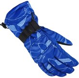 Panegy Men's Shoveling Snow Gloves Winter Heated Insulated Water Resistant Skiing Snowboarding Mittens L