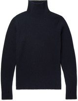 Oliver Spencer - Ribbed Wool Rollneck Sweater