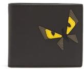 Fendi Butterfleye Bi-fold Leather Wallet