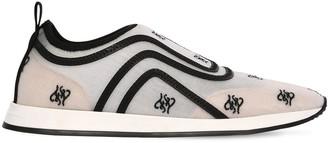 Fendi 10mm Freedom Mesh Slip-On Sneakers