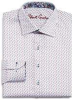 Robert Graham Boys' Triangle-Print Dress Shirt - Big Kid