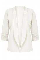 Quiz Cream 3/4 Sleeve Jacket