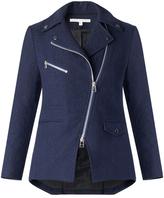 Veronica Beard Lounge Moto Dickey Jacket