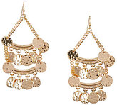Anna & Ava Gold Coin Chandelier Statement Earrings