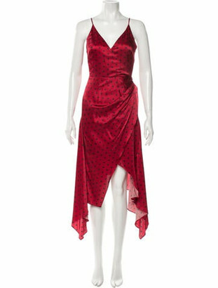 HANEY 2020 Long Dress w/ Tags Red