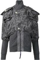 Vivienne Westwood mini 'Clint Eastwood' bomber jacket - women - Polyester/Viscose/Wool/other fibers - M