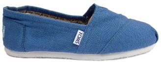 Toms Blue Bridgeport Linen Classics - 37.5 | blue | linen - Blue/Blue