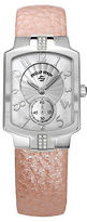 Philip Stein Teslar Ladies Sport Watch with Rose Leather Strap