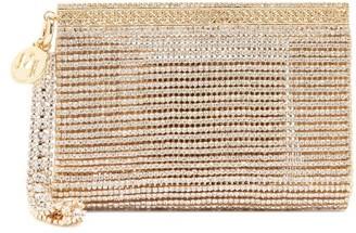 Rosantica Melissa Crystal-embellished Wristlet Clutch Bag - Crystal