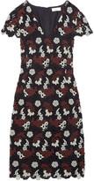 Tory Burch Guipure Lace Mini Dress
