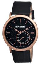 Breed Maxwell Swiss Quartz Leather Watch