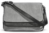 Shinola Leather Shoulder Bag - Grey