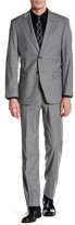 Tommy Hilfiger Vasser Grey Check Two Button Notch Lapel Suit