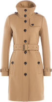 Burberry Virgin Wool Twill Trench Coat with Cashmere