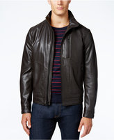 MICHAEL Michael Kors Faux-Leather Bomber Jacket