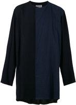 Yohji Yamamoto contrast blazer - men - Cotton/Rayon - 3