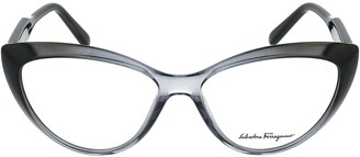 Salvatore Ferragamo Eyewear Cat Eye Shape Glasses