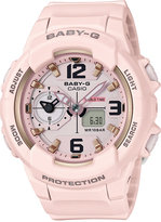 G-Shock Women's Analog-Digital Baby-g Pink Resin Strap Watch 49mm BGA230SC-4B
