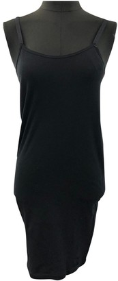 KENDALL + KYLIE Black Cotton Dress for Women