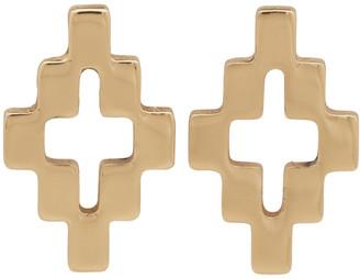 Marcelo Burlon County of Milan Gold Cross Stud Earrings
