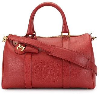 Chanel Pre Owned 1997 CC Boston holdall