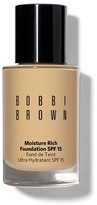 Bobbi Brown Moisture Rich Foundation Broad Spectrum SPF 15