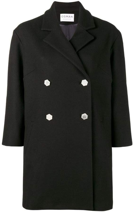 Osman Double Breasted Balloon Coat