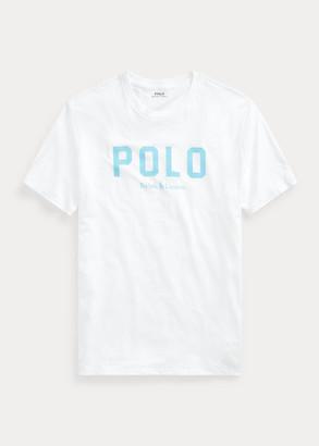 Ralph Lauren Logo Cotton Jersey T-Shirt