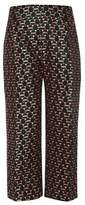Marni Cropped jacquard trousers