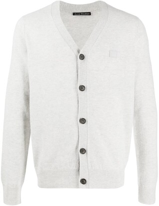 Acne Studios knitted V-neck cardigan