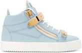 Giuseppe Zanotti Ssense Exclusive Blue London High-top Sneakers