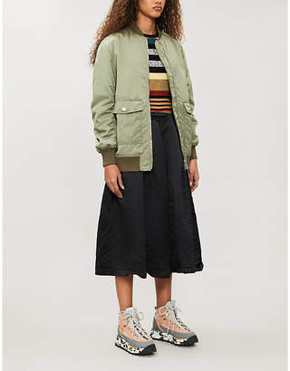 Kenzo Relaxed-fit shell bomber jacket