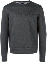 Emporio Armani stitched logo sweatshirt